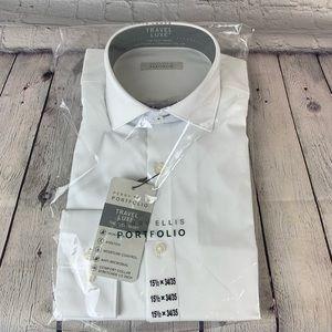 Perry Ellis Portfolio Dress Shirt NWT
